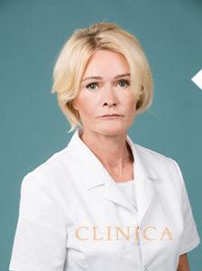 Endla Pree portree pilt arsti kitlis