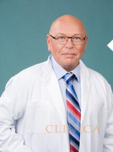 Tippilukirurg dr Peep Pree portree arsti kitlis
